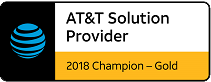 AT&T Solution Provider 2018 Championship Gold